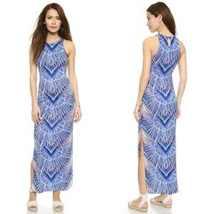 Mara Hoffman Rising Palms Swim Maxi Dress